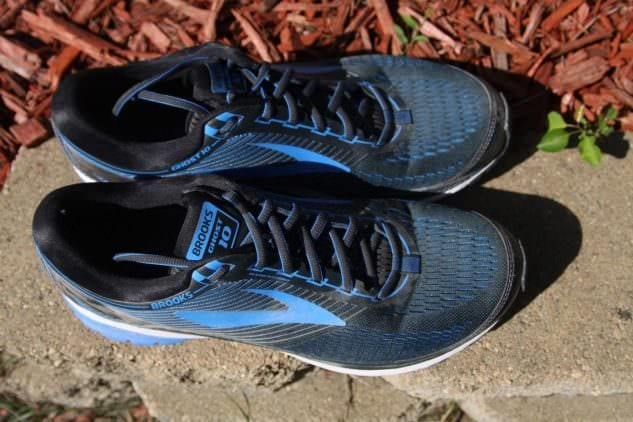 Brooks Ghost 10 Obermaterial
