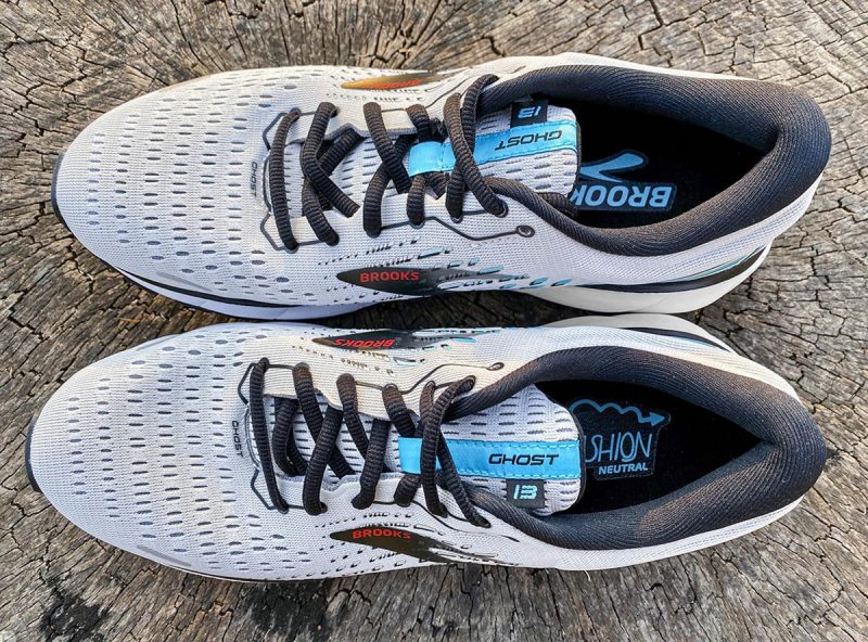 Brooks-Ghost-13 Obermaterial oben